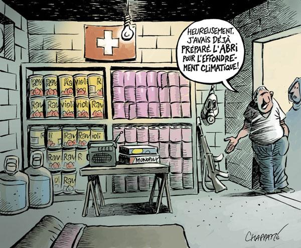 La Suisse est paré pour le conffinement
